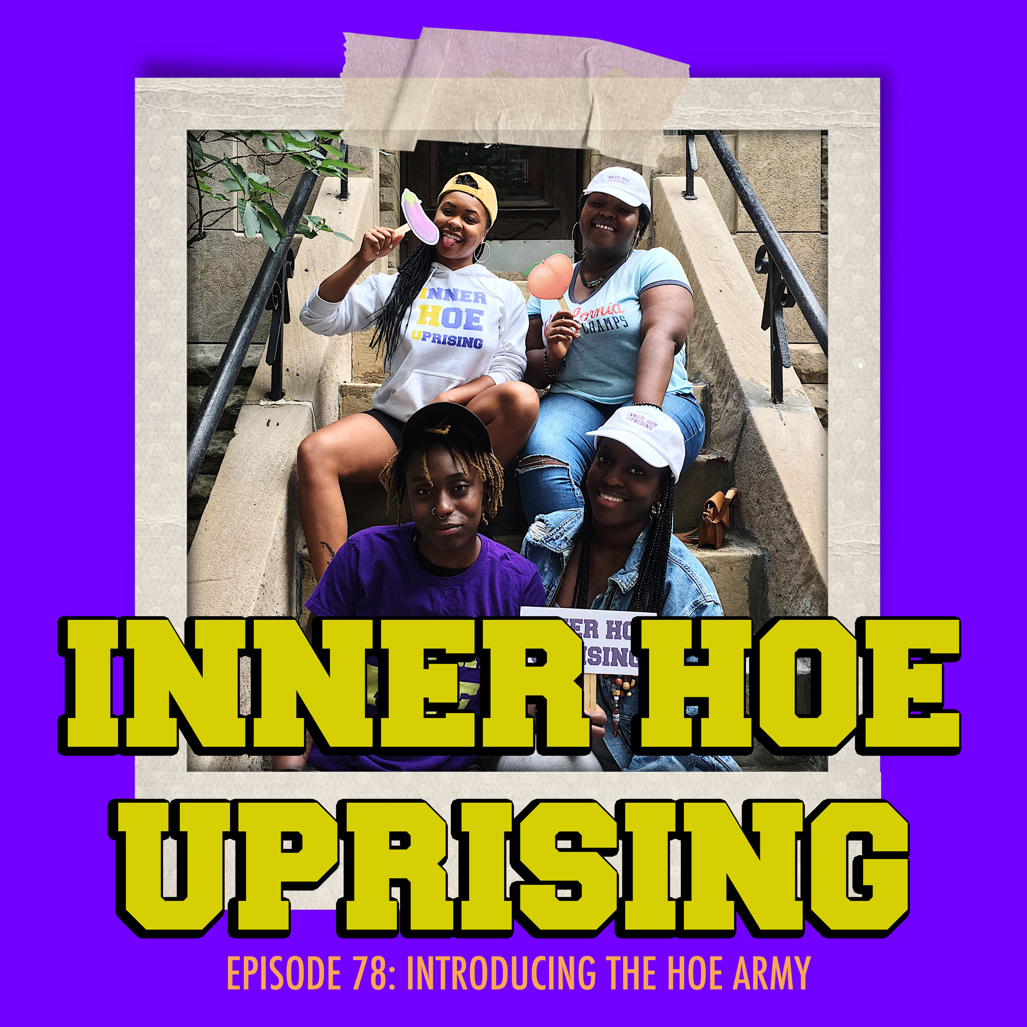 inner hoe uprising, co hoe, black podcast, woman, feminism, womanism