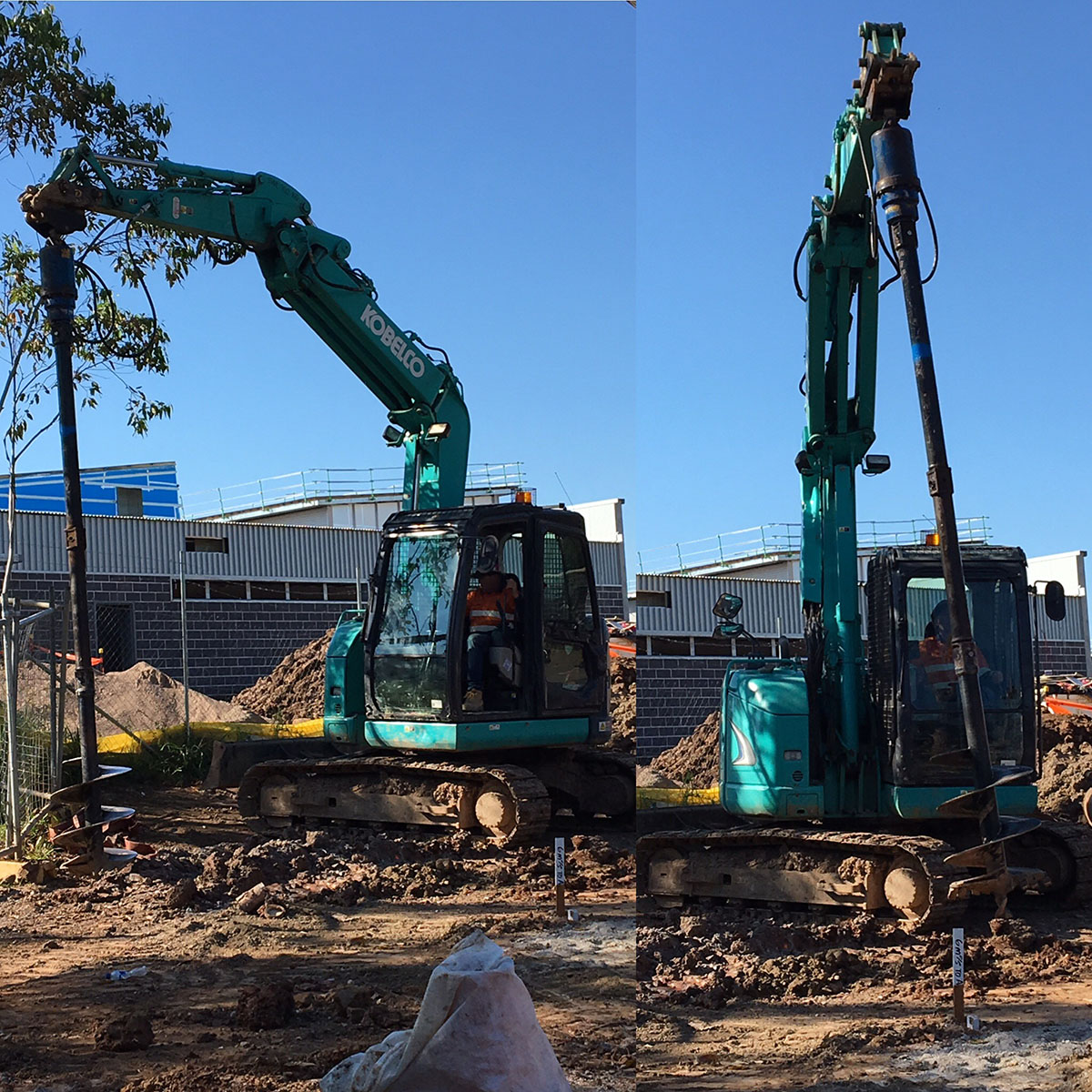 Kennedy Hire - excavators