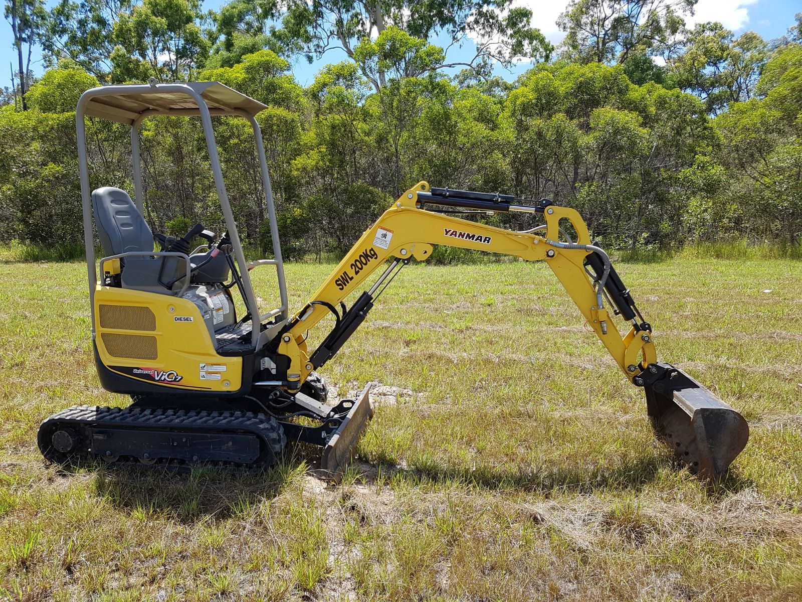 Wombat Hire Mini Excavations Services