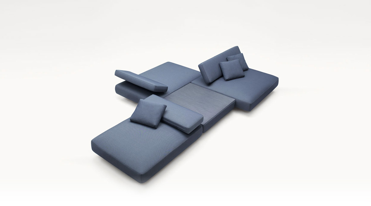 Agio sofa by Paolo Lenti on TheModernist.House
