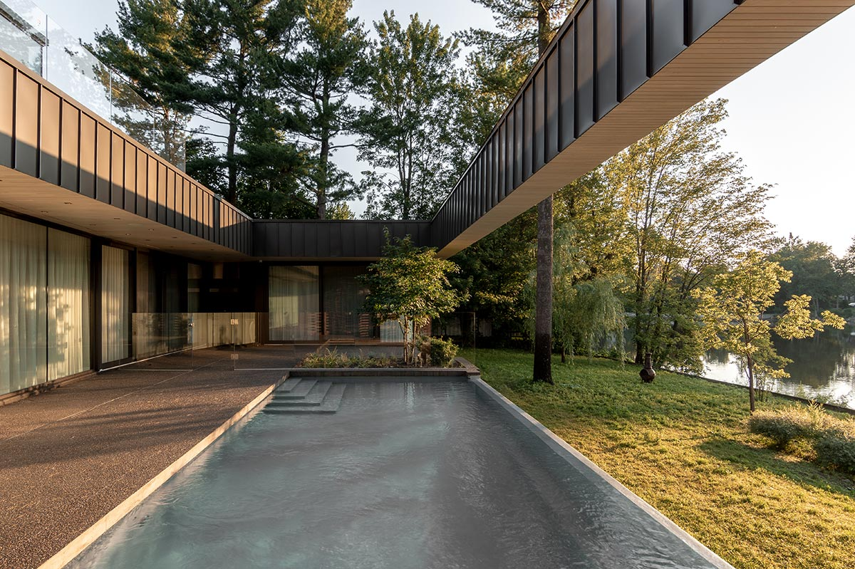 Residence de l'Isle by Chevalier Morales architects on TheModernist.House