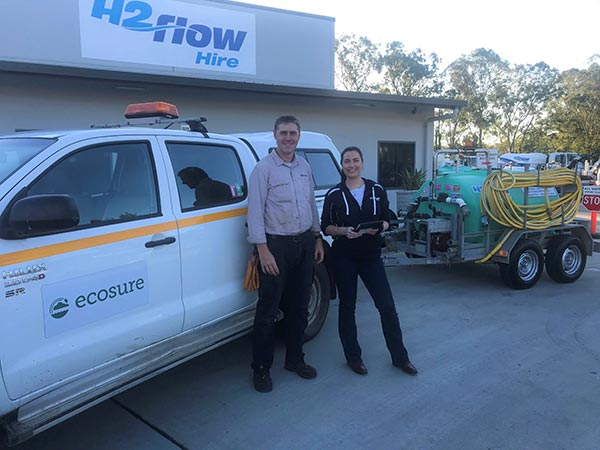 H2flow Hire working with Ecosure
