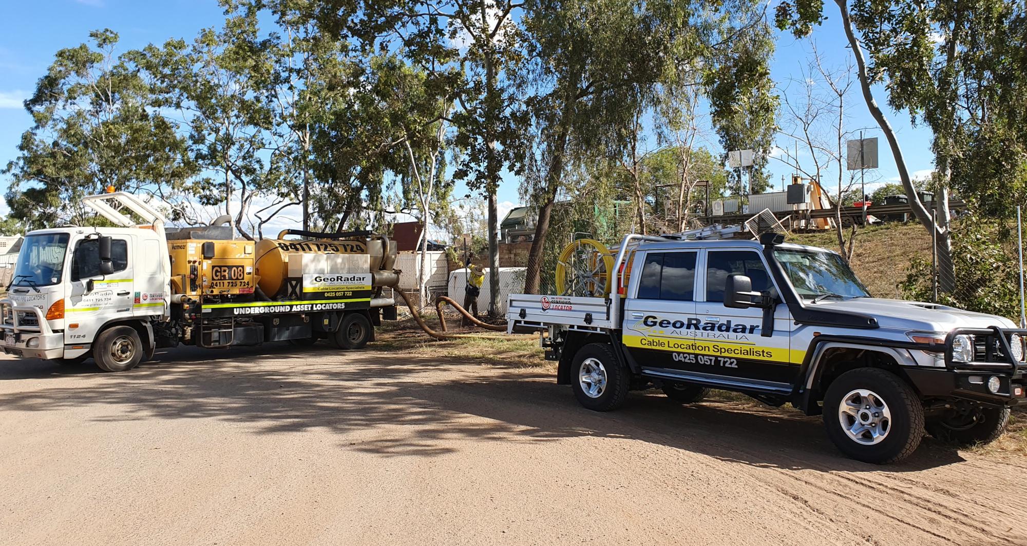 Geo Radar Australia Underground Service Mapping Bundaberg