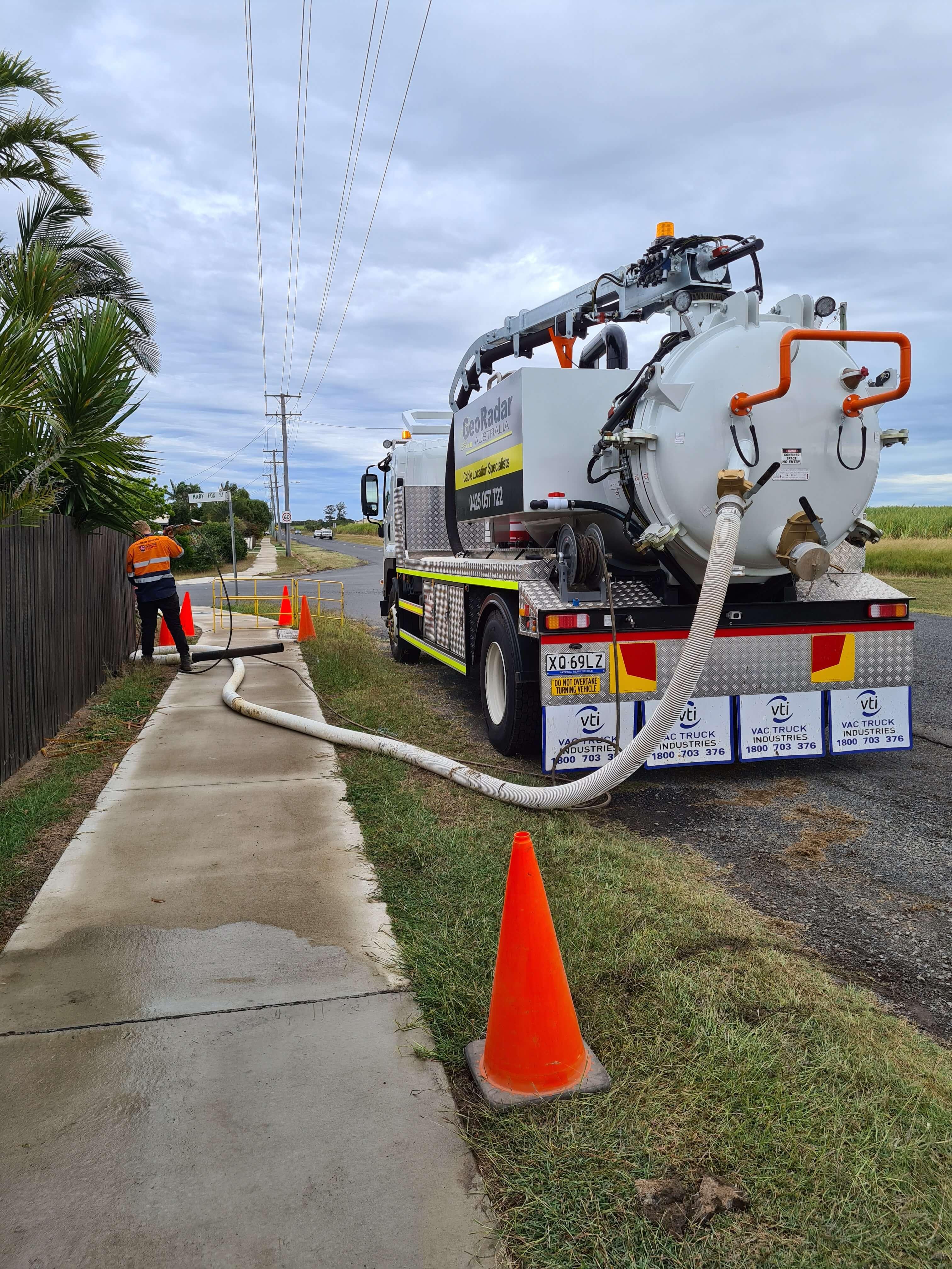 Geo-Radar-Australia-Hydro-Excavation-pipe-exposure-Bundaberg
