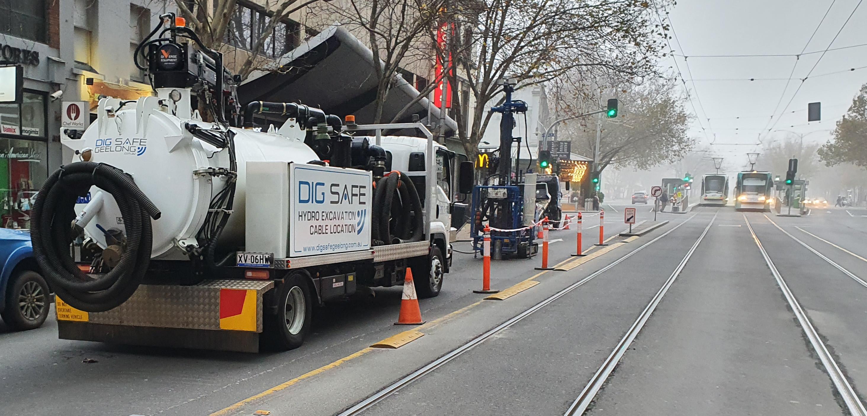 Melbourne CBD hydro Drilling