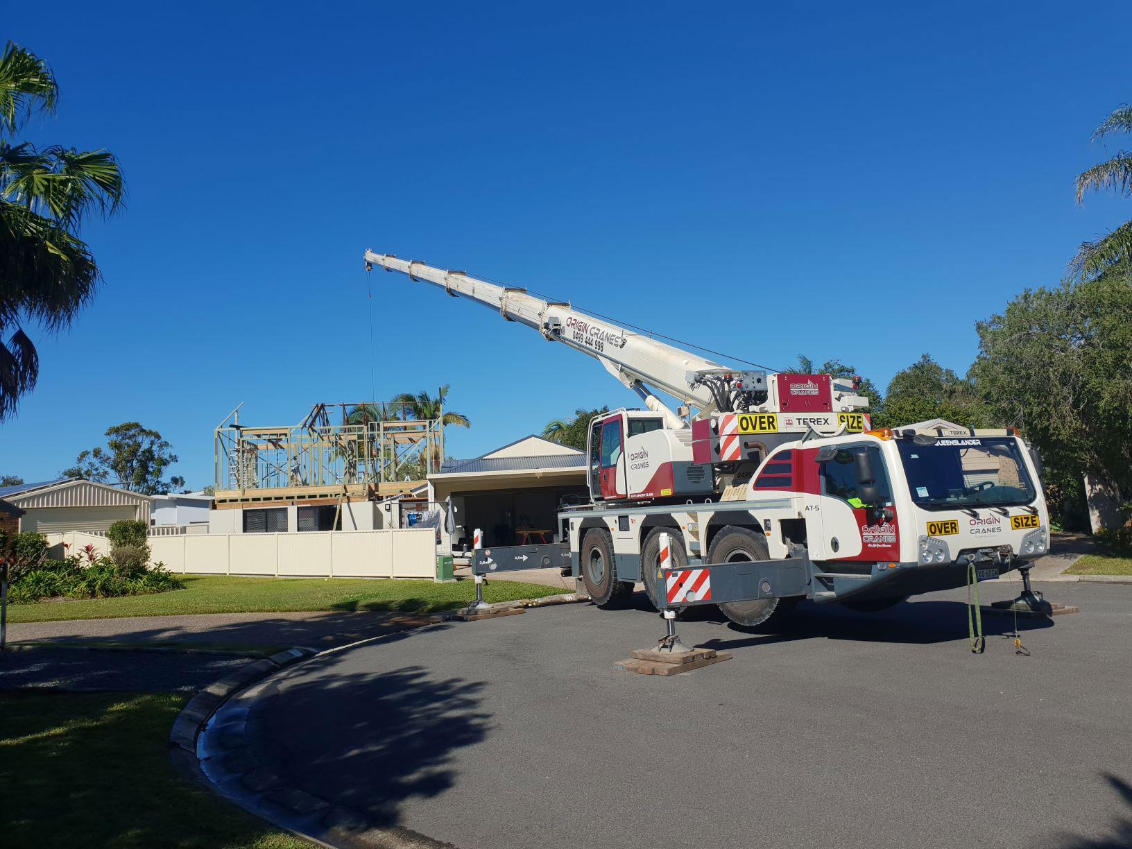 55T All Terrain for hire Sunshine Coast
