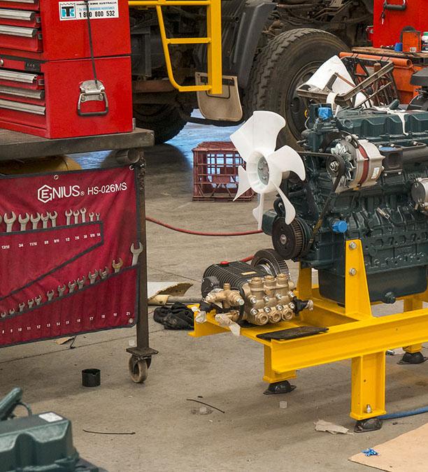 3-D-Cart-maintenance