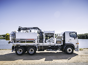 STG Global 8000L Vacuum Trucks