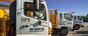 3000L Vac U Digga fleet for hire