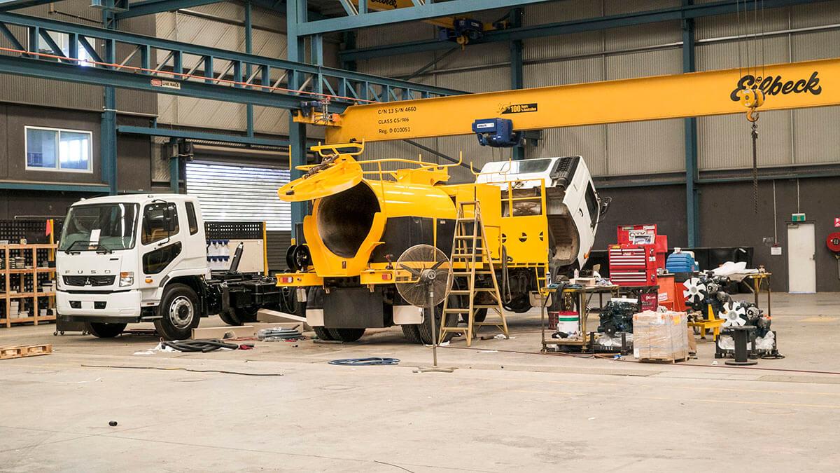 3000L Vacuum Excavator maintenance