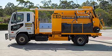 3000L Vacuum Excavator truck for sale VAC Group Ormeau