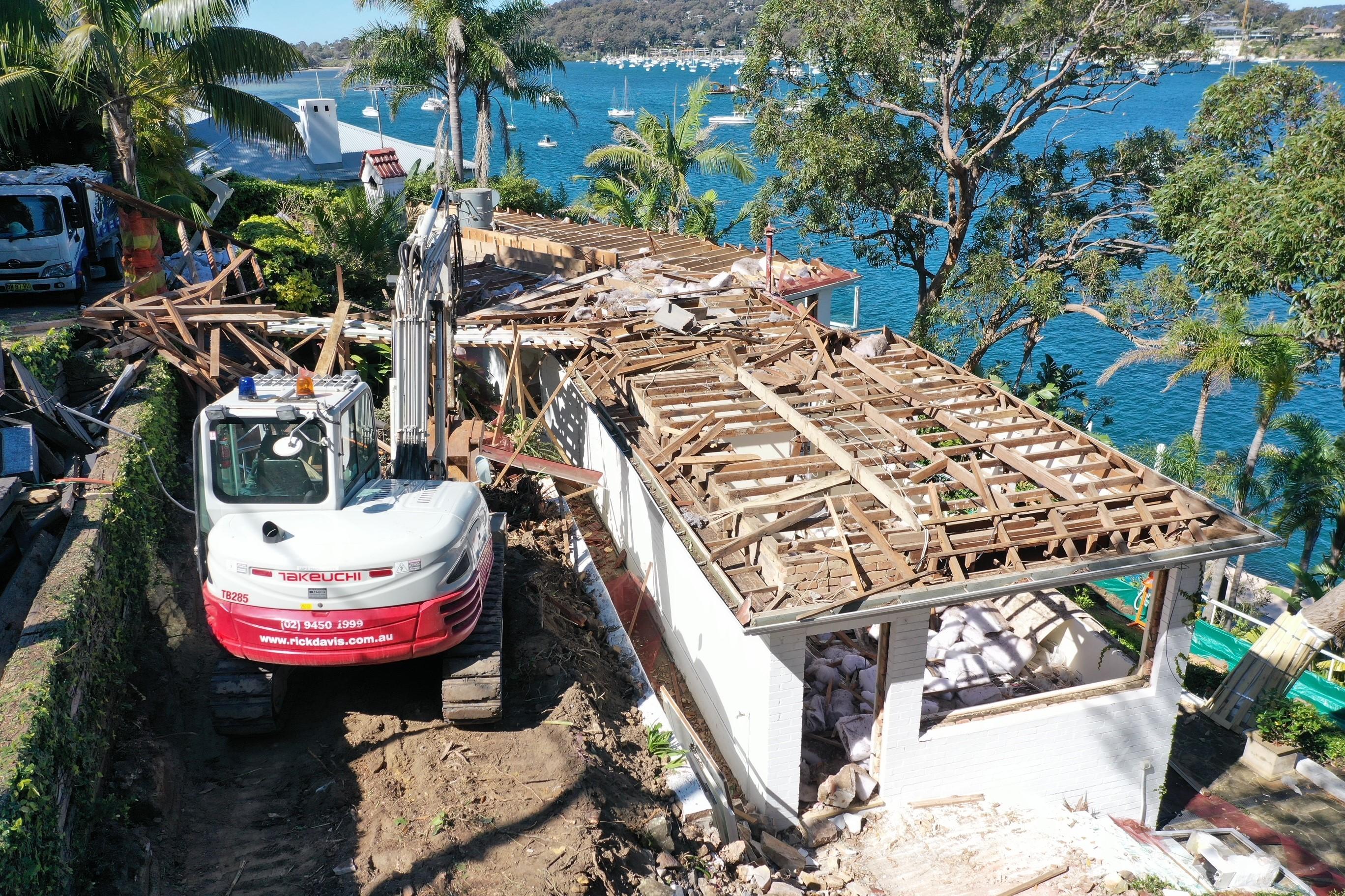 Rick-Davis-Contracting-Demolition-with-Excavators-Sydney