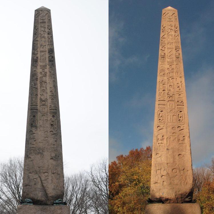 3500 Year Old Egyptian obelisk