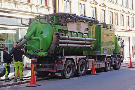 Boom Operated Vacuum Truck