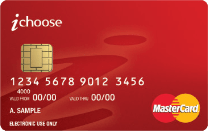 iChoose Branded Visa card
