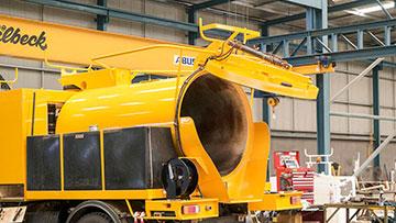 Vac u digga 6000l Vac truck hire Ormeau VAC Group