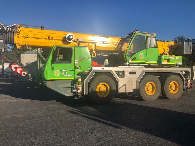 60t Crane Hire Coffs Harbour