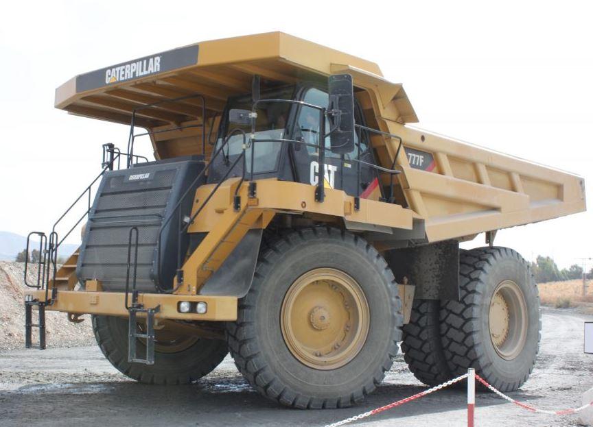 2014 Caterpillar 777G Dump Trucks