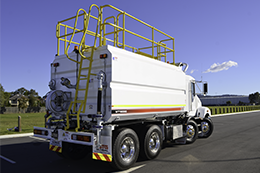 STG Global 8000L water trucks for sale