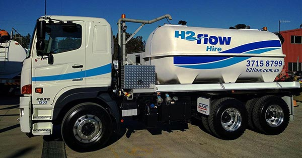Our Latest 12,000L Water Truck
