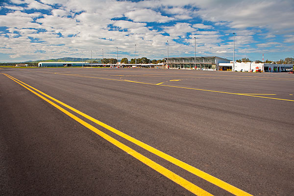 A-P-Delaney-Airport-Road-Construction-Complete-street-sweeper-hire-albury