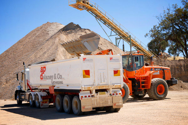 A-P-Delaney-Rockwood-Quarry-quarrying-dump-truck-hire-albury