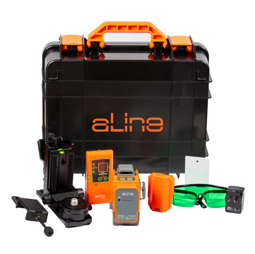 aLine AL-3DG green beam line laser kit