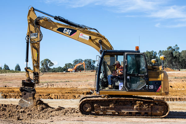 Cat 312D Excavator