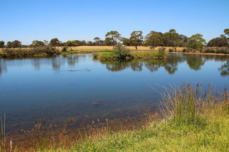Fresh water dam