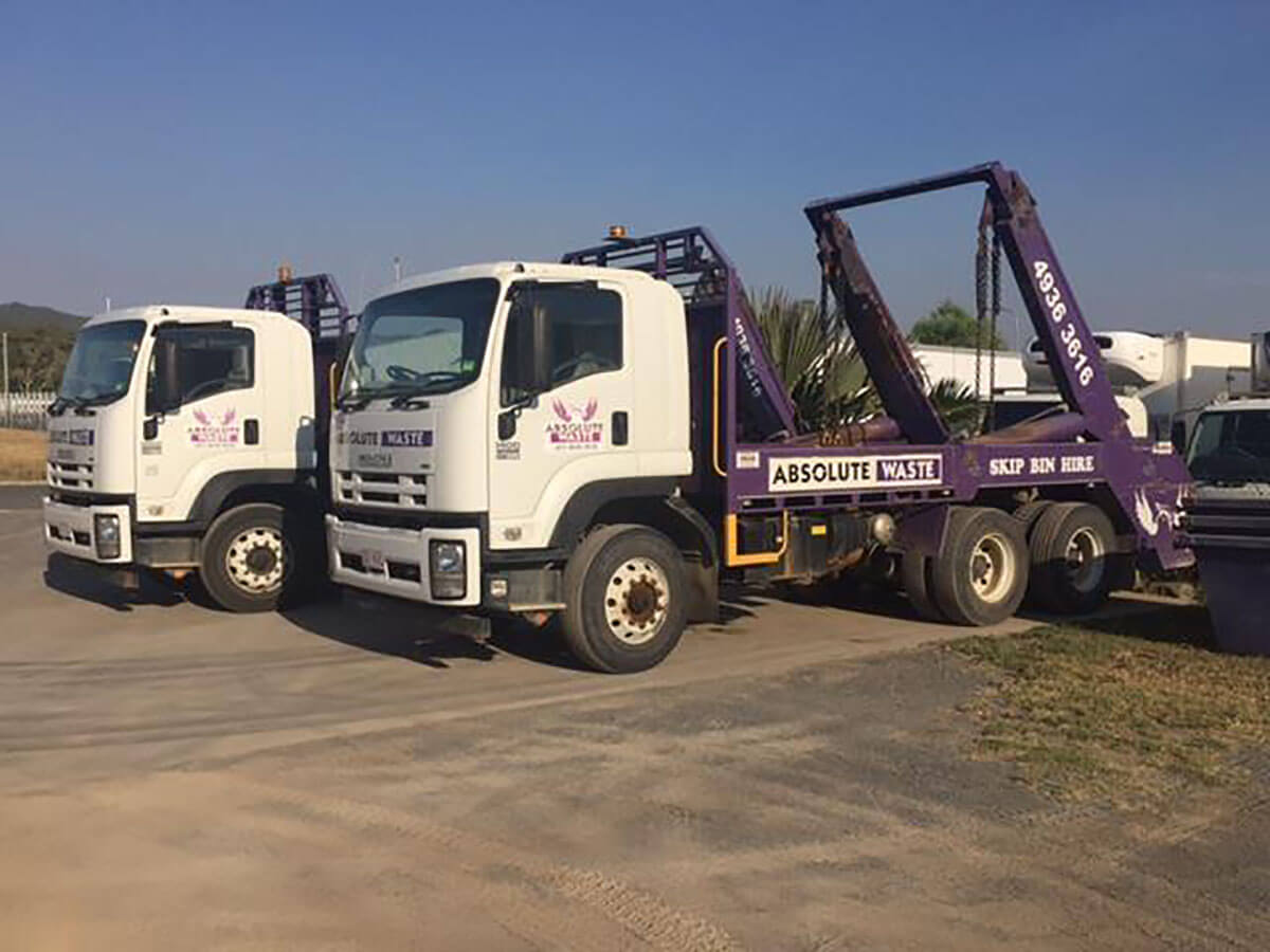 Skip Bins and Wheelie Bins for hire in Rockhampton plant hire