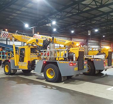 Action Cranes Mobile Crane Hire