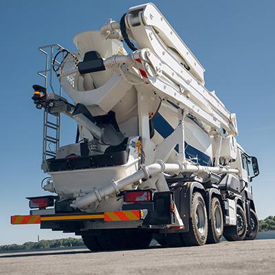 Advance Concrete Pumping Fleet