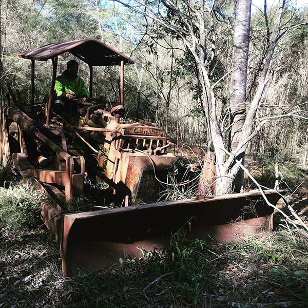 Advanced-Clearing-Excavation-dozer-Caterpillar-clearing-Sydney