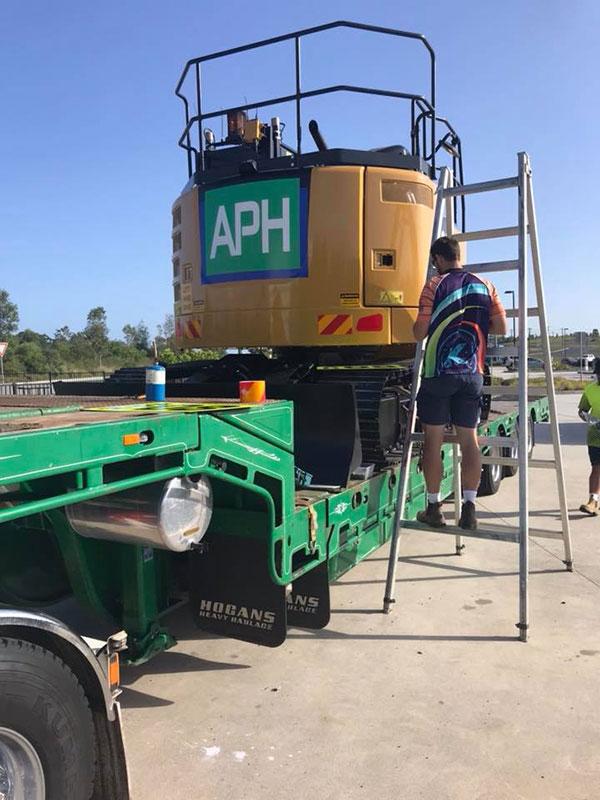 Advanced-Plant-Hire-APH-Excavator-subdivision-contractor-kempsey