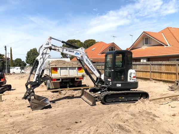 Bobcat E50 excavator