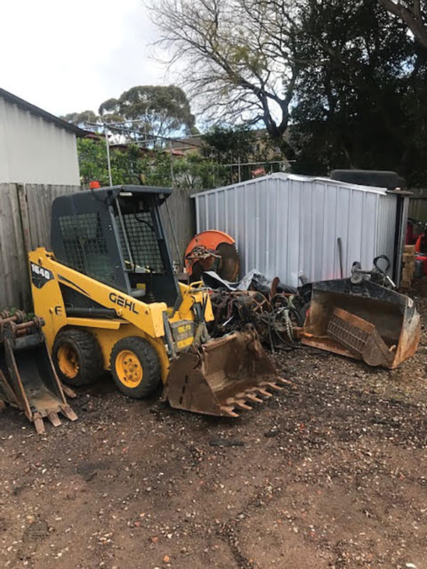 Any-Access-Excavation-and-Demolition-bobcat-on-worksite-Concord