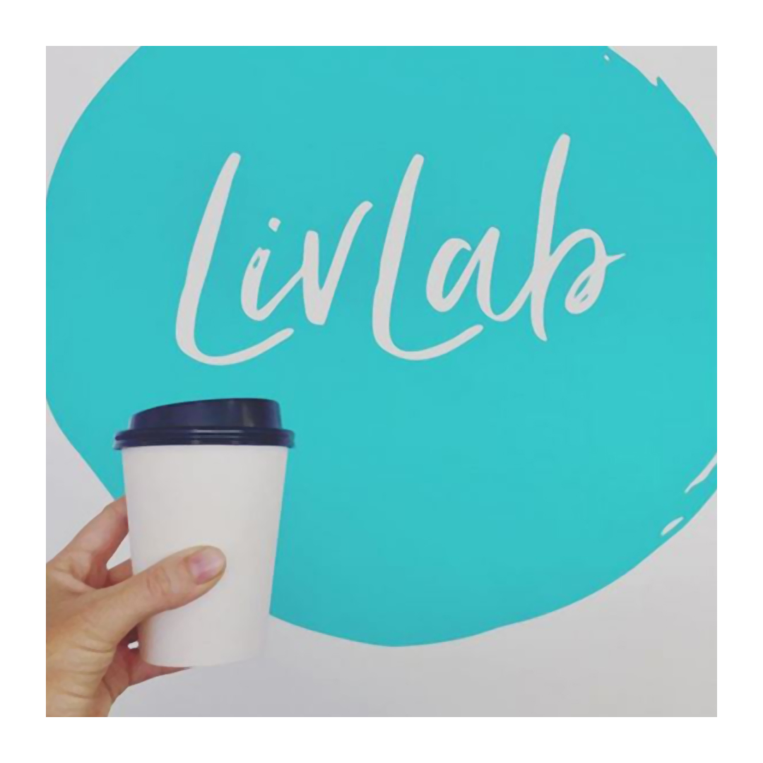 Live Lab logo and product shot