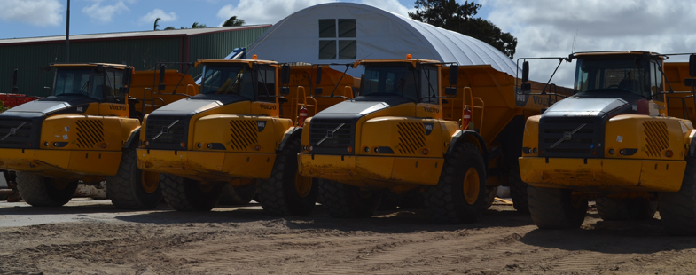 Articulated Dump Trucks for hire