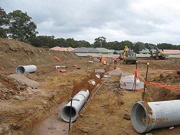 Attcall Drainage Works Batemans Bay Newcastle