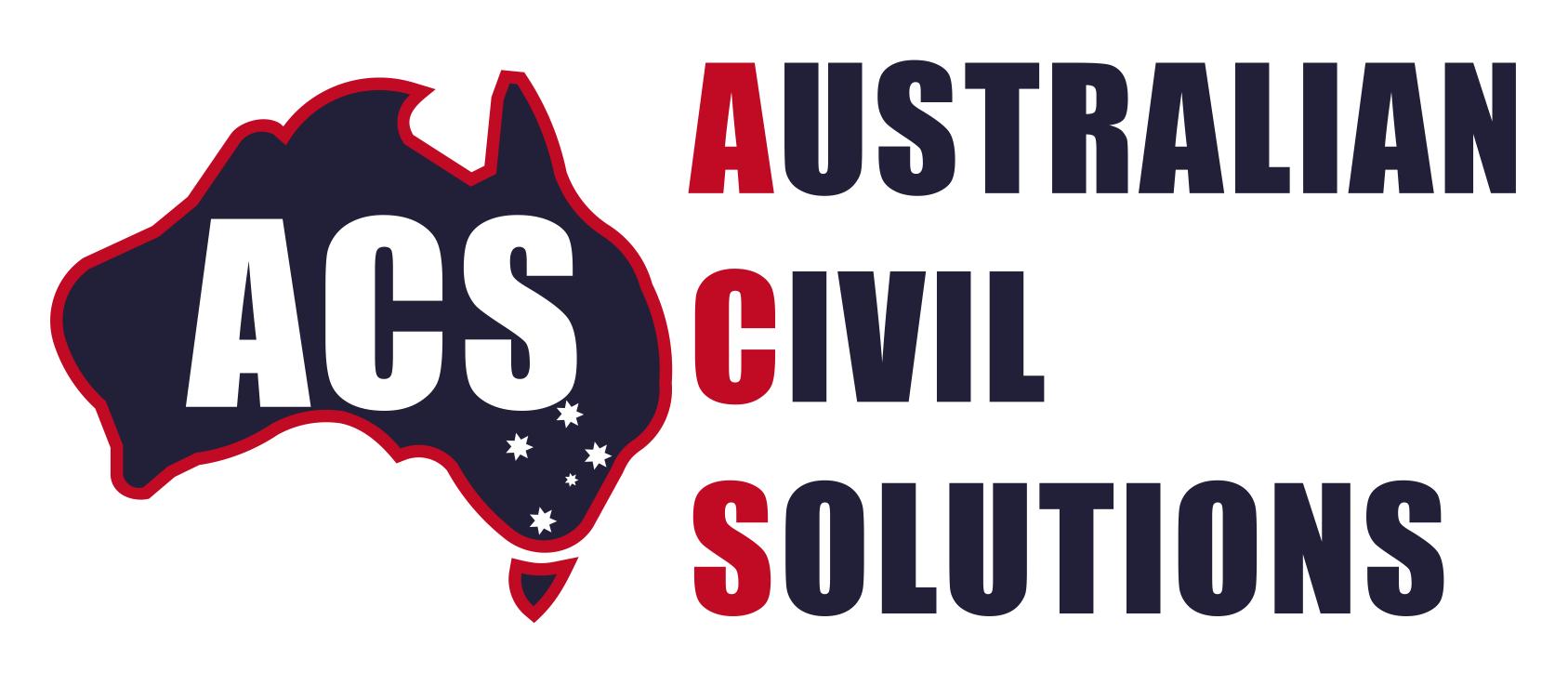 Australian Civil Solutions Logo