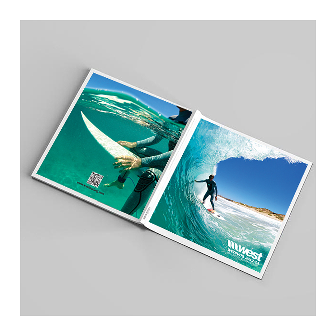 Surfing products company brochure