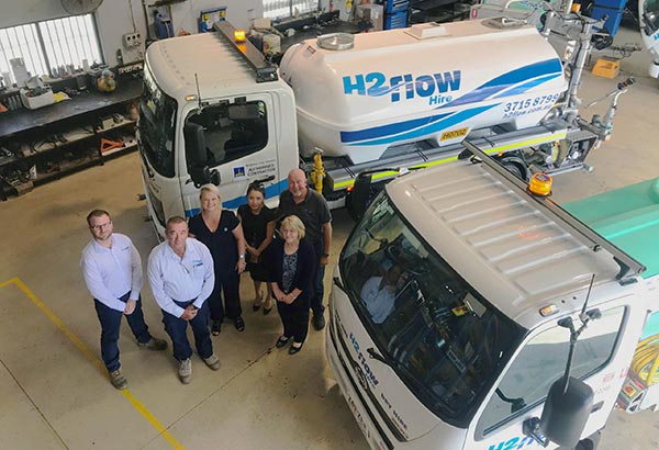 """H2flow Hire supporting the Brisbane City Council's """"clean and green drive"""