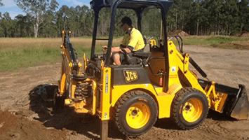 Backhoe Operator Training Sunshine Coast