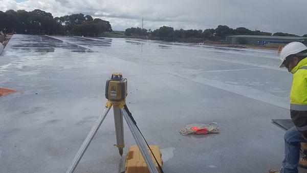 Bennett Plumbing and Civil surveying equipment