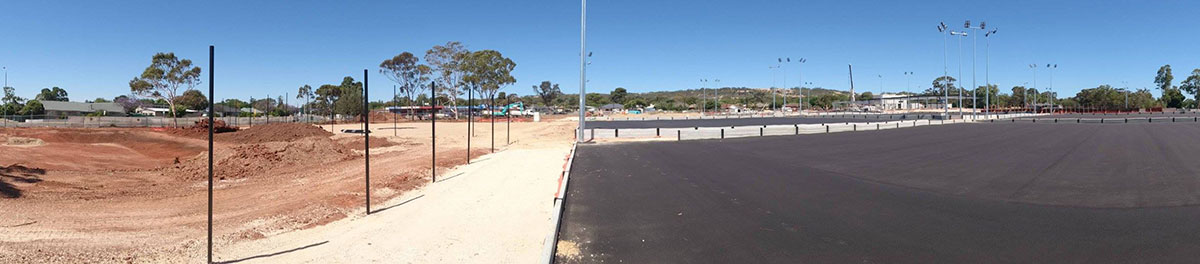 Bennett Plumbing and Civil carpark construction