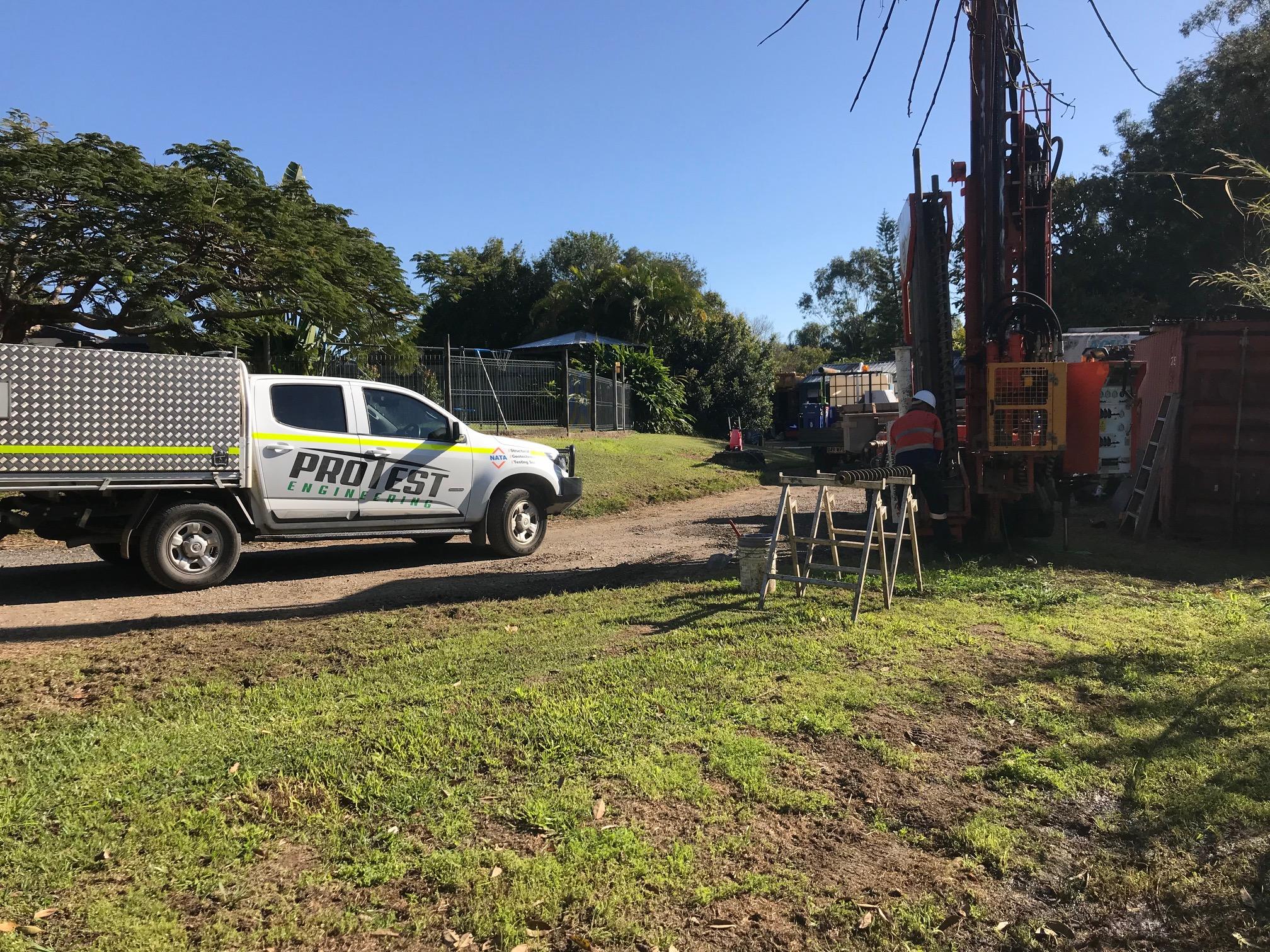 Protest Engineering Quarry Sampling