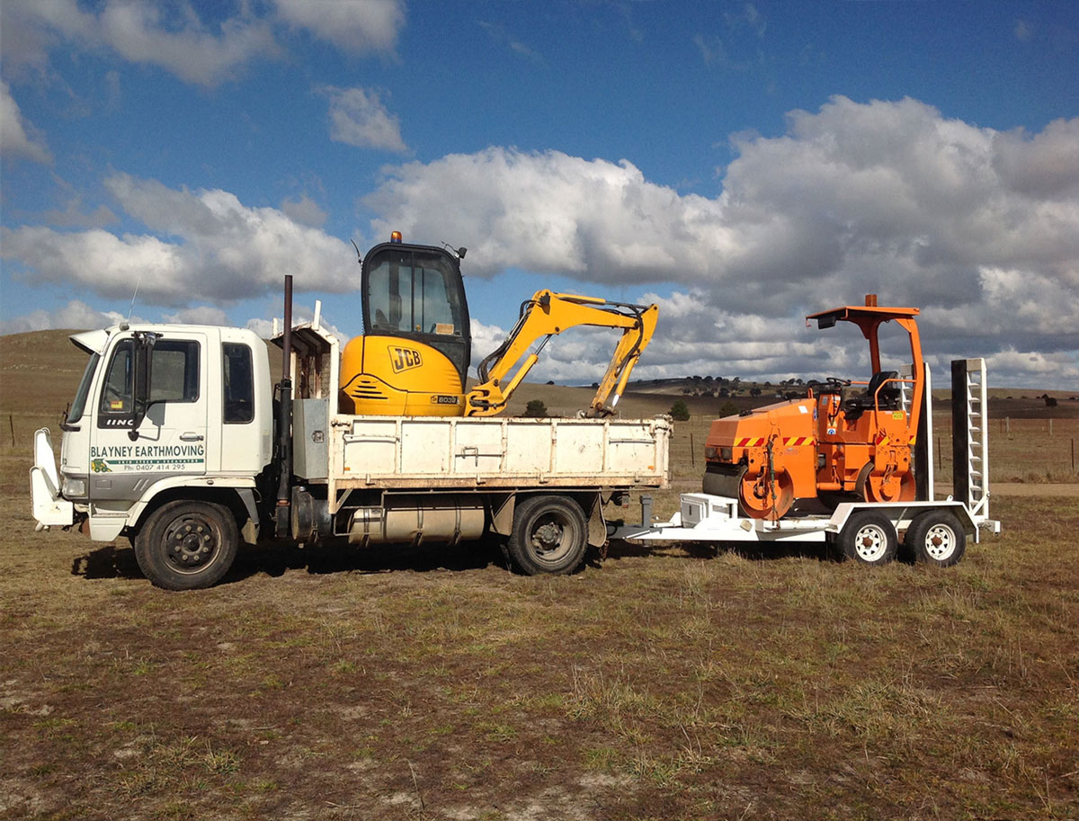 blayney earthmoving plant hire Bathurst