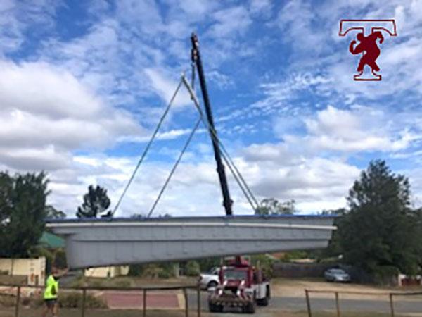 Teece Crane Hire - Boat Crane Lift Logan