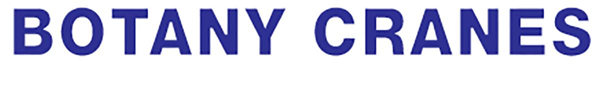 Botany Cranes Logo