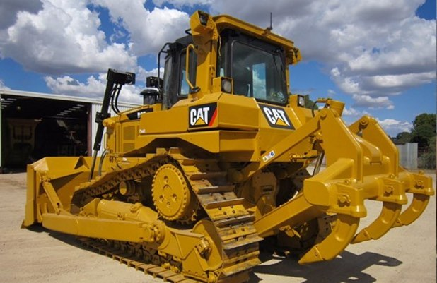 Burns Equipment Group CAT Track dozer attachment